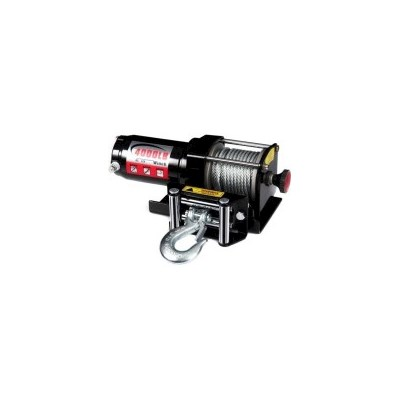 Wireless Steel Cable Electric Winch 1800kg 12V