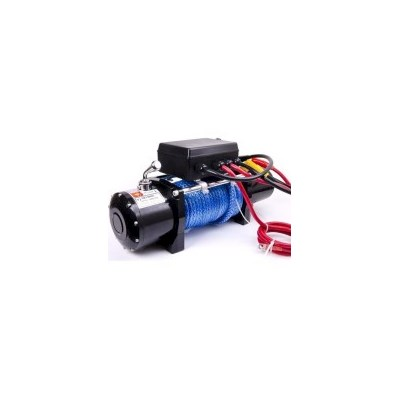 Wireless Synthetic Rope Electric Winch 5897kg 12V