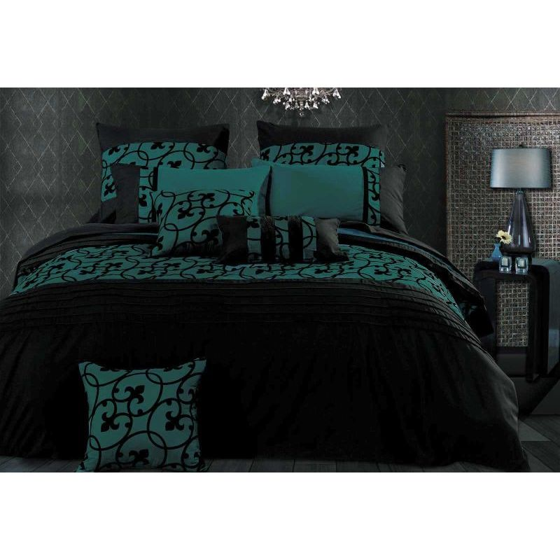 Luxton Linen Lyde King Microfibre Quilt Cover Set Buy