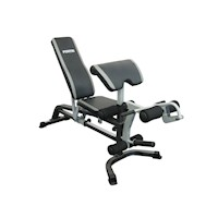 Force USA Home Gym Adjustable Flat Bench in Black