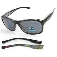 Arnette Uncorked Mens Polarised Sunglasses in Black