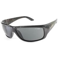 Arnette Cheat Sheet Mens Sunglasses in Black & Grey