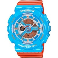 Casio Baby G Ladies Digital Analog Watch BA110NC-2A