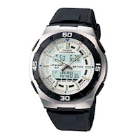 Casio Men's Digital Analog Sports Watch AQ-164W-7AV