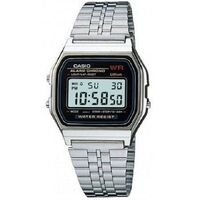 Casio Men's Stainless Steel Digital Watch A159WA-N1
