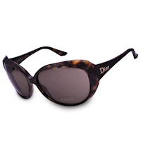Dior Panther Ladies Sunglasses in Havana & Brown
