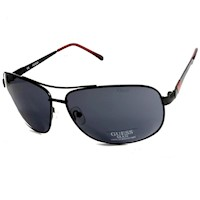 Guess Men's Metal Frame Aviator Sunglasses in Black