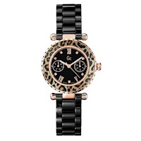 Guess Collections Ladies Diver Chic Watch in Black