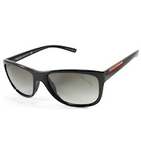 Prada Sport Unisex Gradient Sunglasses in Dark Grey