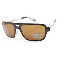 Serengeti Nunzio Polarised Mens Sunglasses in Brown