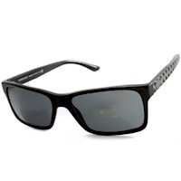 Versace Pop Chic Couture Men's Sunglasses in Black