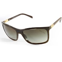 Prada Heritage Unisex Gradient Sunglasses in Green