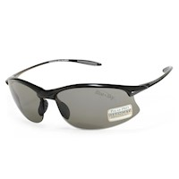 Serengeti Unisex Maestrale Sunglasses Black & Grey