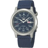 Seiko Men's Nylon & Stainless Steel Watch in Blue