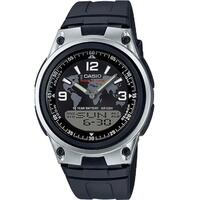 Casio Men's Sports LED Watch in Black & Silver