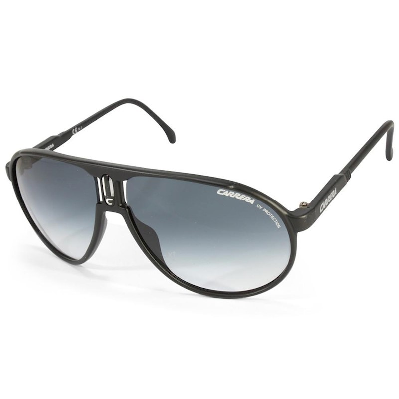 bb4f7b8dcb Carrera Champion DL5 JJ Matte Black Grey Gradient Unisex Aviator Sunglasses