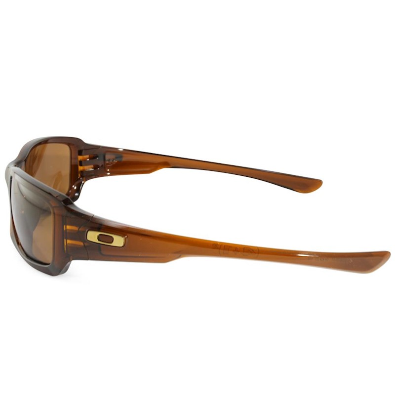 2ad4463033 h m s Remaining. Oakley Fives Squared OO9238-07 Polished Rootbeer Dark Bronze  Sunglasses