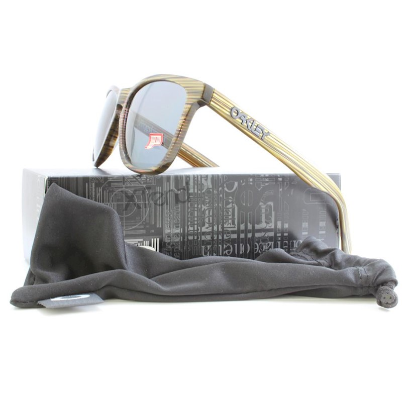 78f20bf851 h m s Remaining. Oakley Frogskins LX OO2043-09 Green Grey Polarised Unisex  Sunglasses
