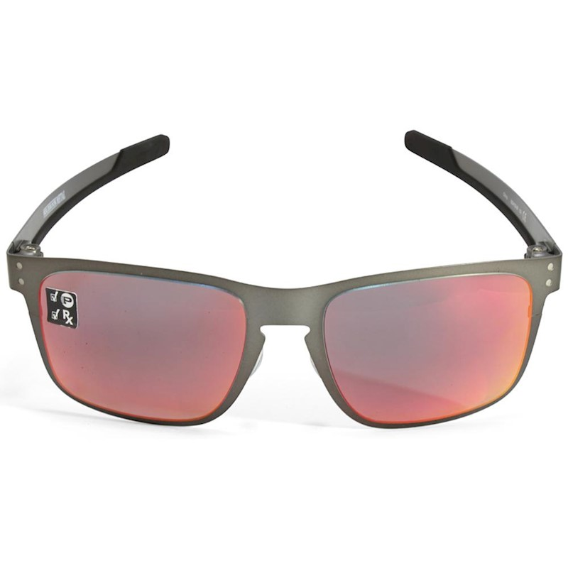 bf9629b86d h m s Remaining. Oakley Holbrook Metal OO4123-05 Gunmetal Torch Iridium  Polarised Sunglasses