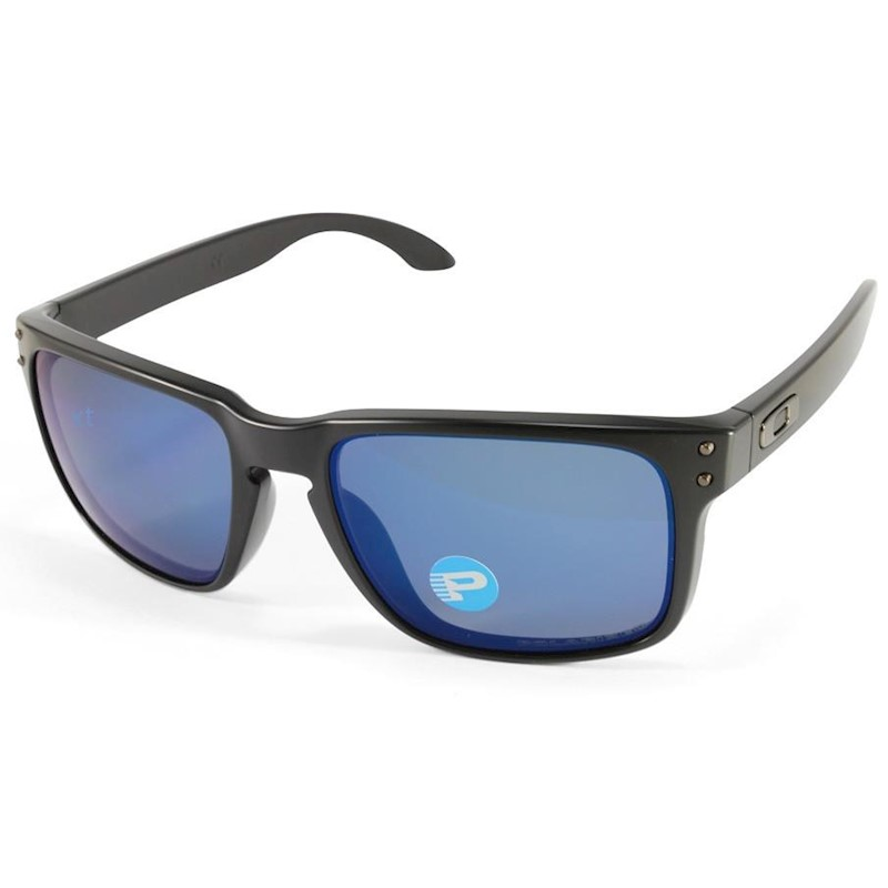 06e4d8f392 h m s Remaining. Oakley Holbrook OO9102-52 Matte Black Ice Iridium  Polarised Sunglasses