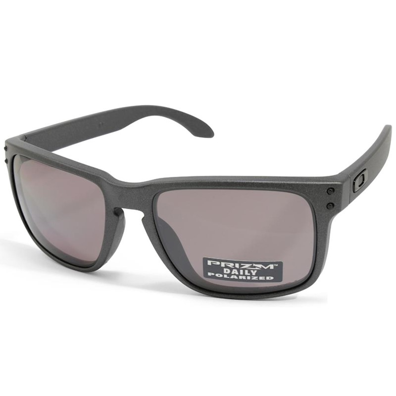790f4a98ad1 Oakley Holbrook OO9102-B5 Steel Prizm Daily Polarised Sunglasses ...