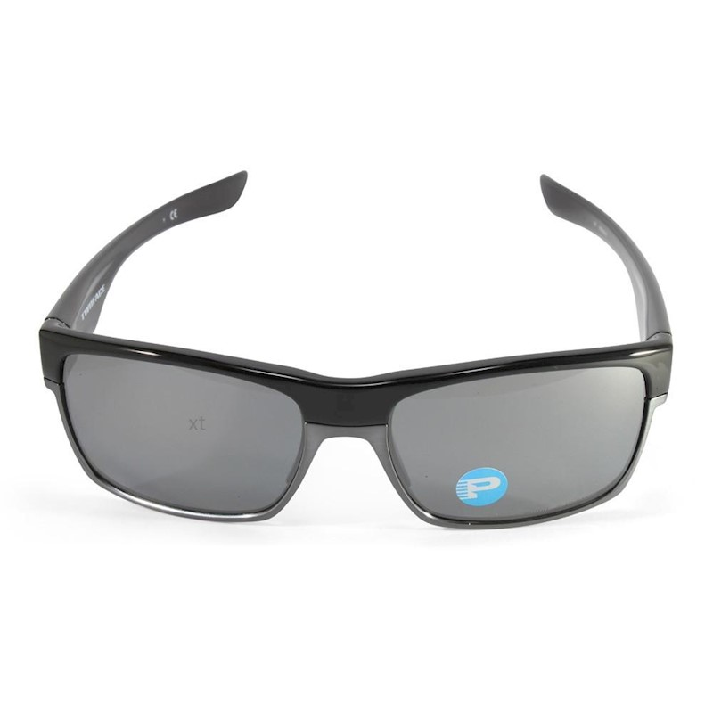 02b41dec8f h m s Remaining. Oakley Twoface OO9189-01 Polished Black Black Iridium  Polarised Sunglasses