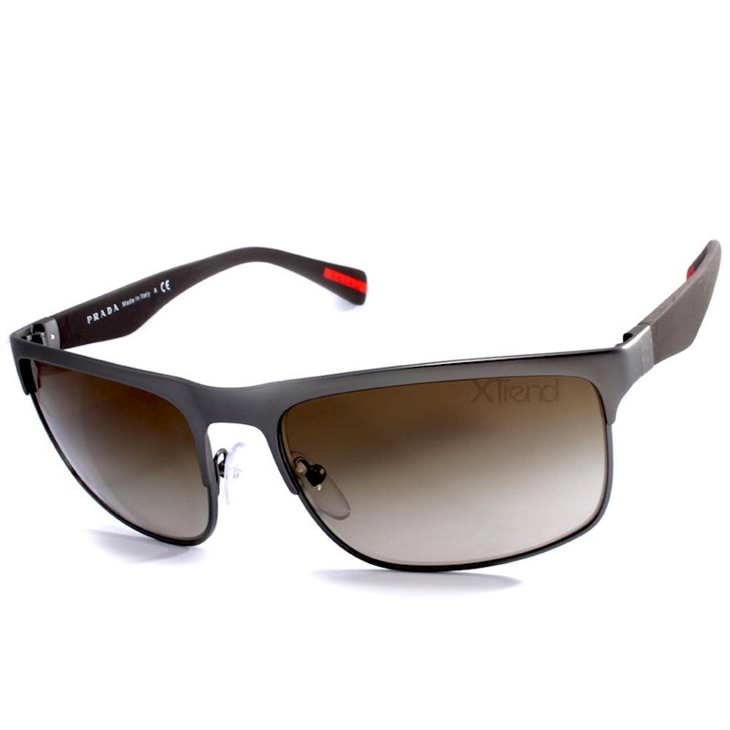 5b04a88c805 h m s Remaining. Prada Sport PS 56PS DG11X1 Gunmetal Brown Gradient  Sunglasses