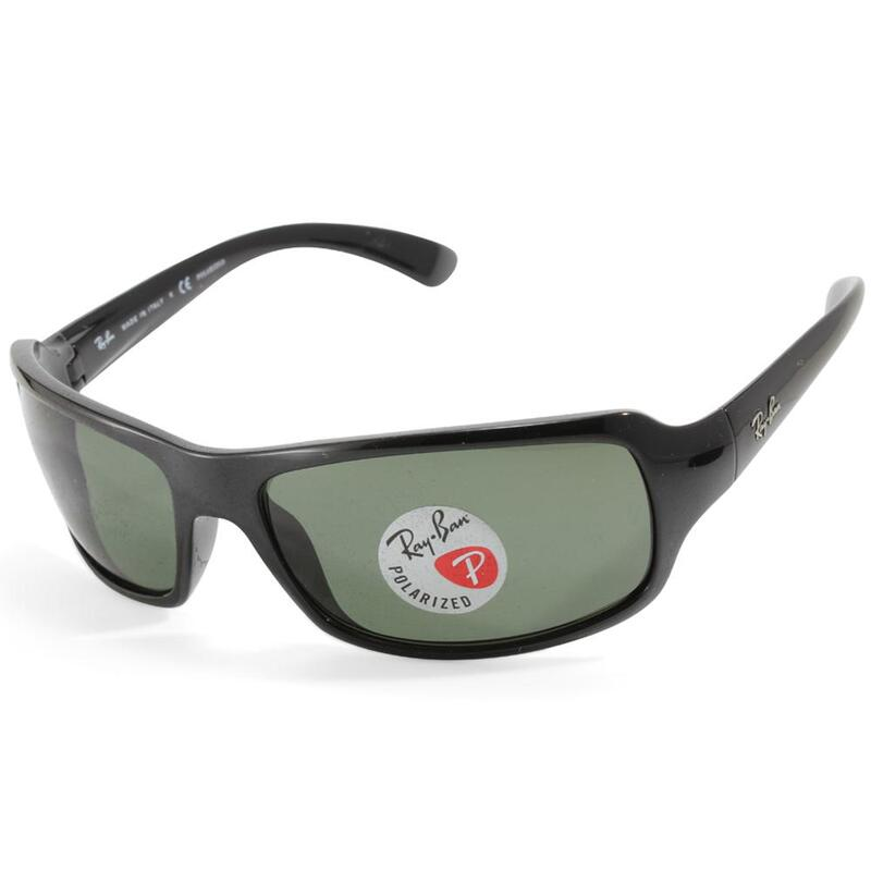 3c6d543fca h m s Remaining. Ray-Ban RB4075 601 58 Polished Black Green Polarised  Unisex Sunglasses