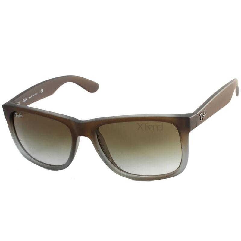a574aef8b6ef Ray-Ban RB4165 854 7Z Justin Brown Green Gradient Sunglasses