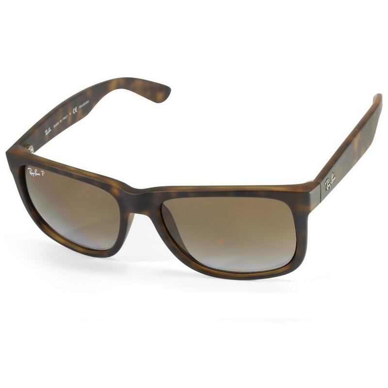 a44579d3695 Ray-Ban RB4165 865 T5 Justin Matte Tortoise Brown Gradient Polarised  Sunglasses