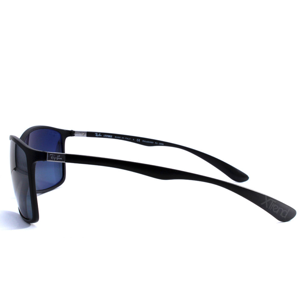 8f5c066a17 h m s Remaining. Ray-Ban RB4179 601S82 Liteforce Matte Black Silver Mirror  Polarised Sunglasses