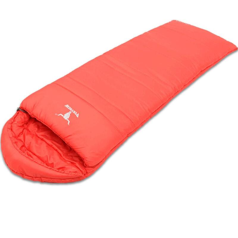 size 40 1b4aa 22a98 Outdoor Camping Envelope Sleeping Bag Thermal Tent Hiking Winter Single  -10°C Re