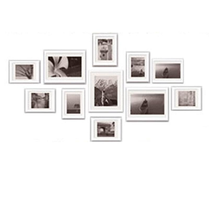 11pcs Picture Photo Frame Set Wall White 140x80cm Buy Photo Frames