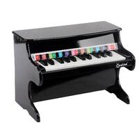 Kids Wooden Pretend Musical Toy Baby Children Grand Style Toy Mini 25 Key Piano