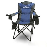 Adventuridge Outdoor Folding Camping Chair in Blue