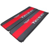 Double Self Inflating Non-Slip Sleeping Mat Black