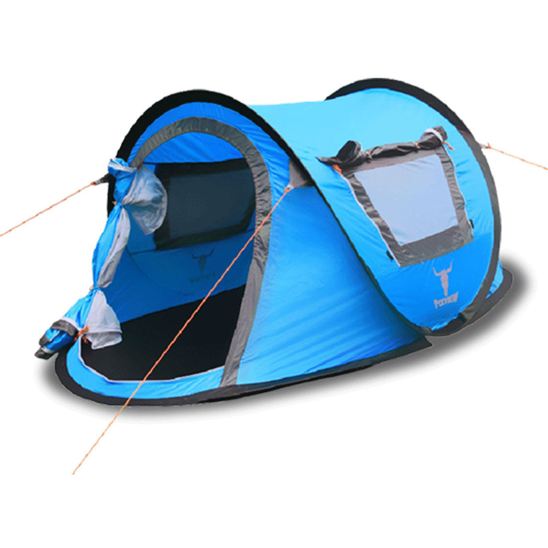 ... Pop Up Tents. h m s Remaining  sc 1 st  MyDeal & ONE TOUCH EASY SET UP POPUP POP UP INSTANT 2 PERSON TENT UV PROTECT ...