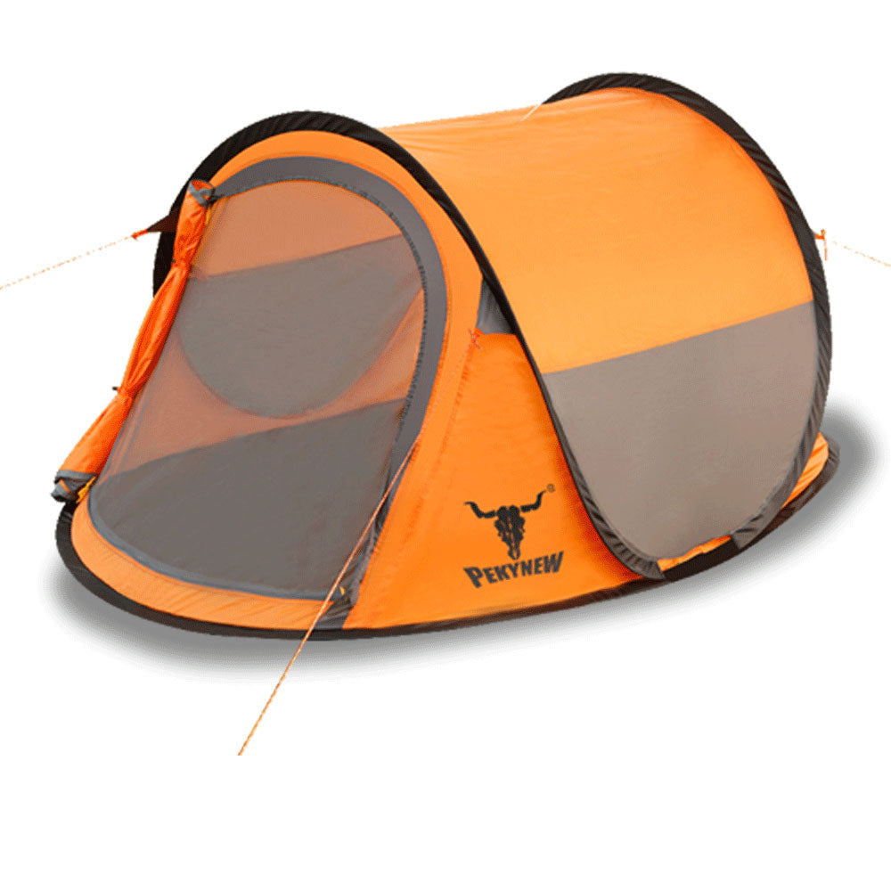 22378308ae7 h m s Remaining. ONE TOUCH EASY SETUP POPUP POP UP INSTANT 2 PERSON TENT UV  PROTECTION AUTOMATIC
