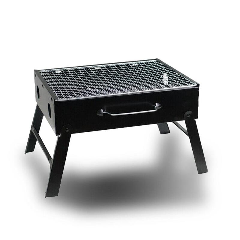 outdoor camping portable foldable charcoal bbq grill hibachi picnic barbecue buy charcoal. Black Bedroom Furniture Sets. Home Design Ideas