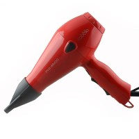 Cabello Pro 3600 Powerful Hair Dryer in Red 240V