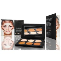 Professional 6 Shade Contour & Highlighting Palette