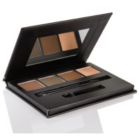 Natural Mineral Powder Eyebrow Palette w/ 4 Shades