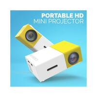 "Portable 100"" HD LED Projector"