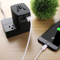 Universal Travel Adapter for AU, EU, US & UK
