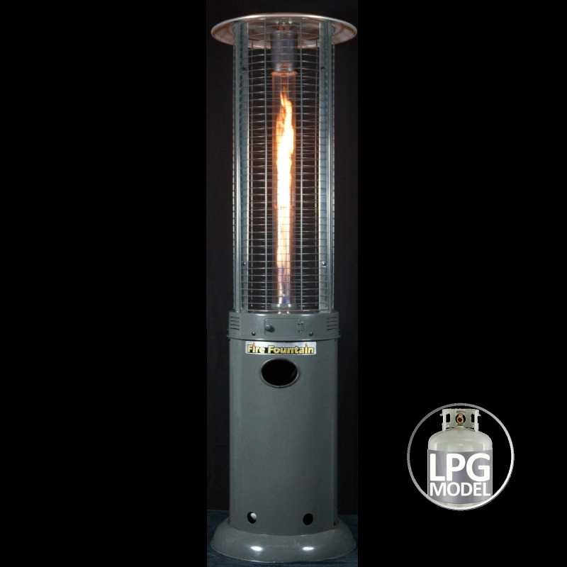 Fire Fountain Lpg Outdoor Patio Heater Anthracite Buy Patio Heaters