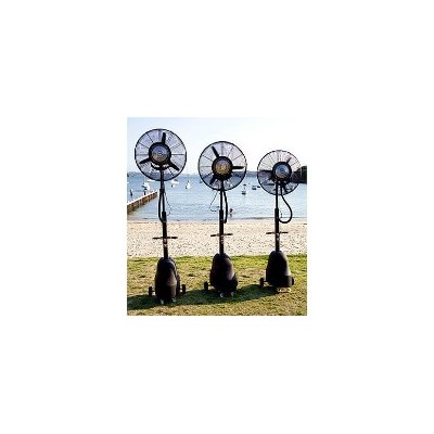 The Tornado Portable Misting Fan in Black