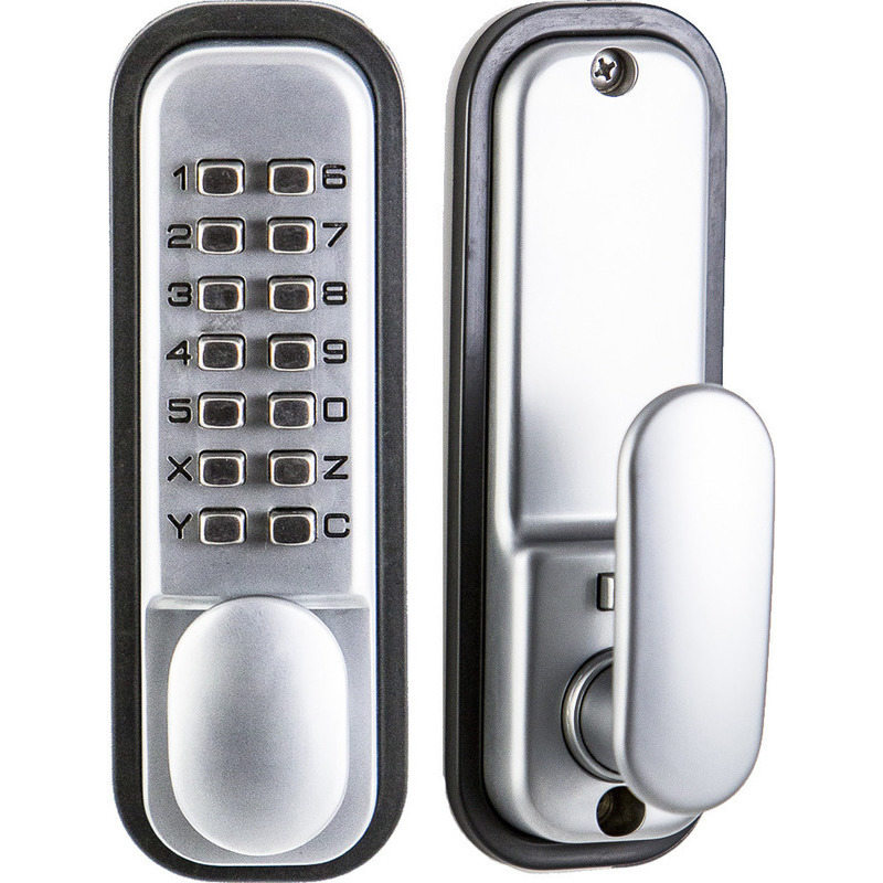 kas digital mechanical door lock with single keypad buy