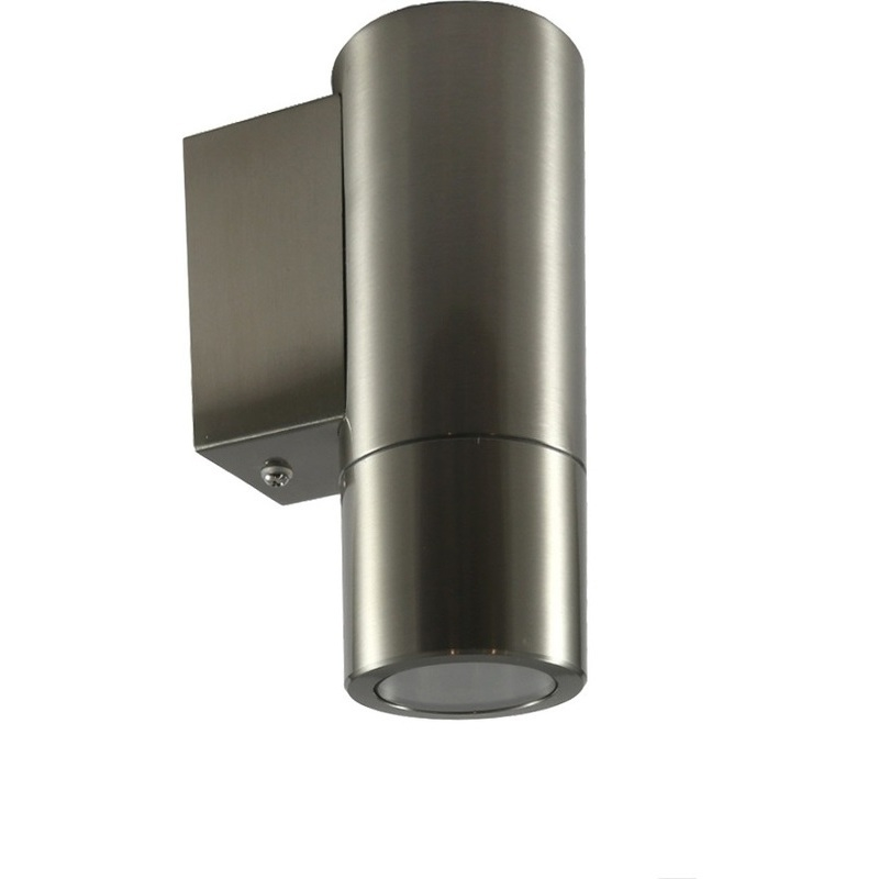 Wall Mounted Downlights : Sorrento Stainless Steel Wall Mounted Downlight Buy Wall Lights