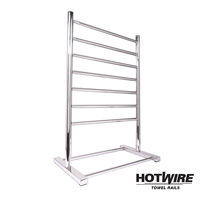 Free Standing Heated Towel Rack 900x600mm 90W