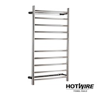 Hotwire Curved Heated Towel Rail 600 x 1000mm